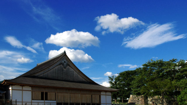 【写真】 篠山城大書院