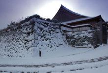 【写真】 雪の篠山城
