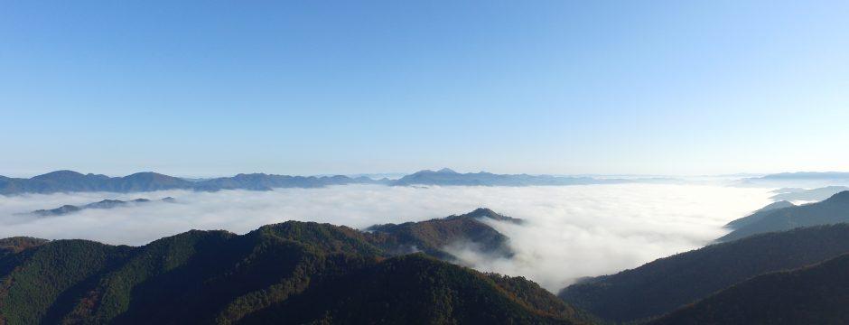 【写真】 雲海 味間奥